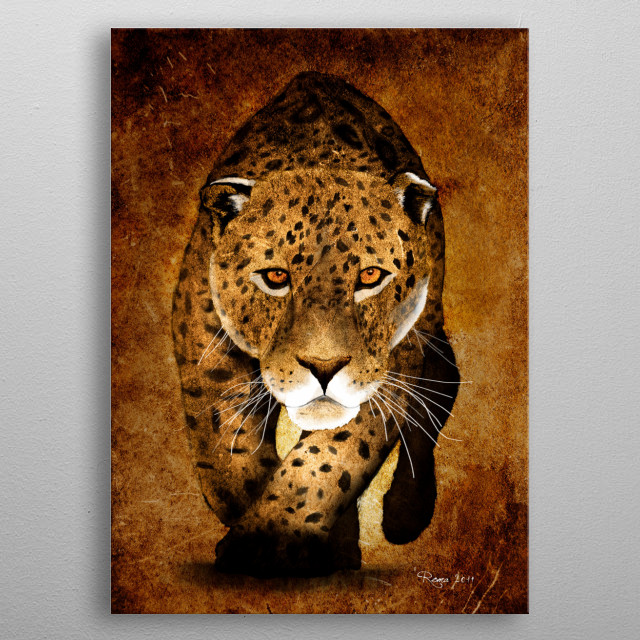 From sketches to digital painting, The Wild Collection. metal poster