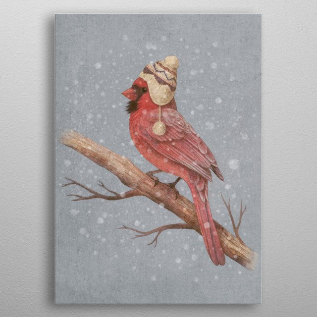 High-quality metal print from amazing Winter Is Coming collection will bring unique style to your space and will show off your personality. metal poster
