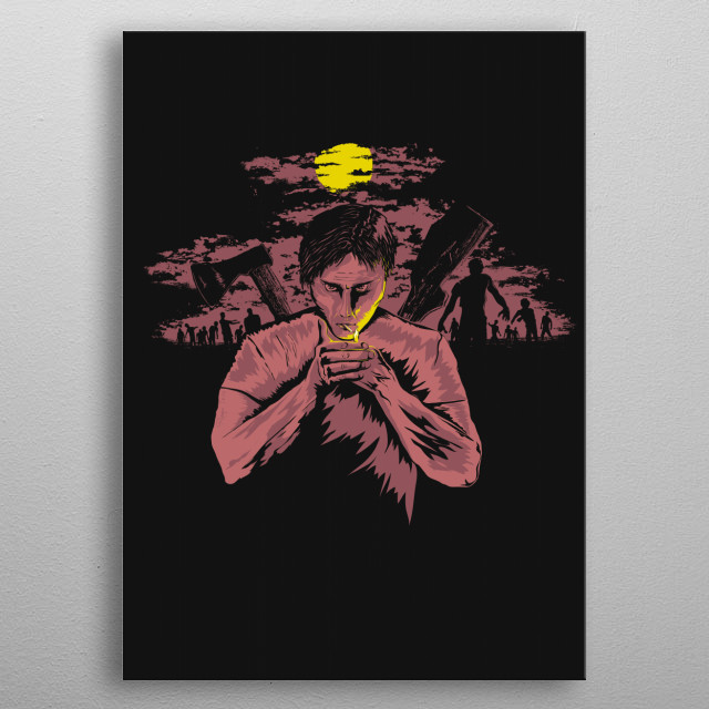 Fascinating metal poster designed by Roma Artwork. Displate has a unique signature and hologram on the back to add authenticity to each design. metal poster