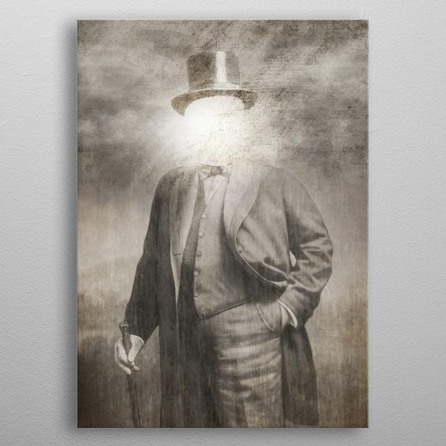 Mr. Sunshine metal poster