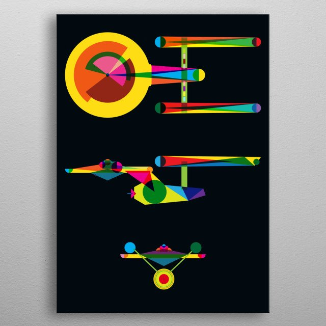 Fascinating metal poster designed by Fimbis. Displate has a unique signature and hologram on the back to add authenticity to each design. metal poster