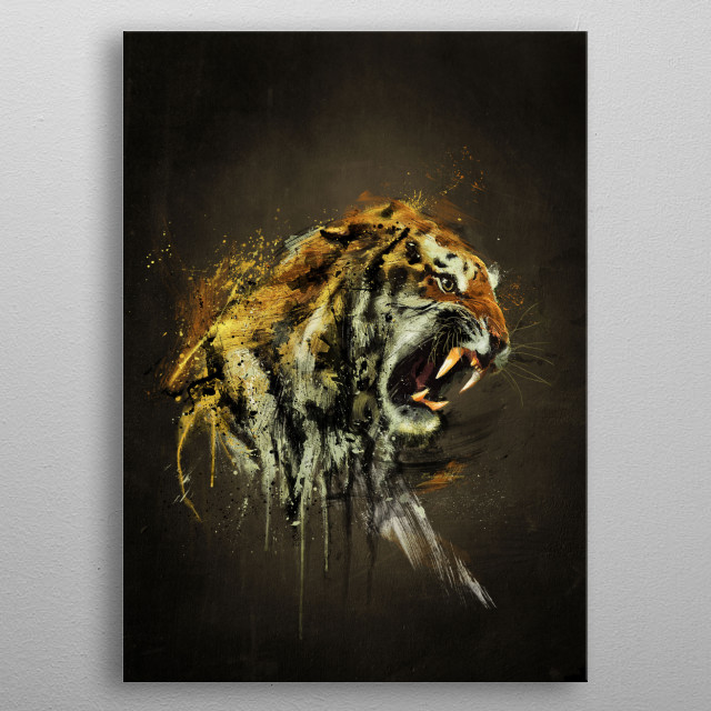 High-quality metal print from amazing Wild collection will bring unique style to your space and will show off your personality. metal poster