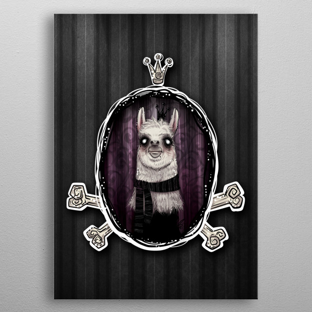 High-quality metal print from amazing Royale collection will bring unique style to your space and will show off your personality. metal poster
