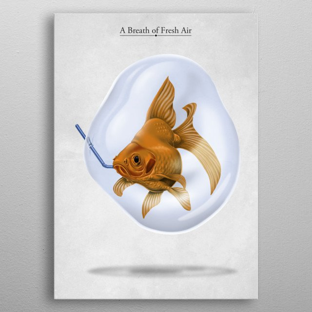 High-quality metal print from amazing Animal Behaviour I collection will bring unique style to your space and will show off your personality. metal poster
