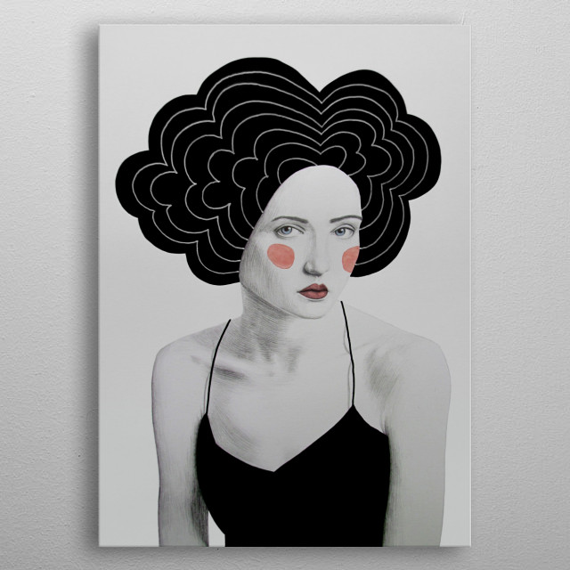 High-quality metal print from amazing Girls collection will bring unique style to your space and will show off your personality. metal poster
