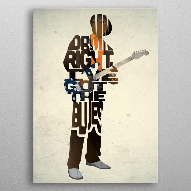 Buddy Guy. metal poster