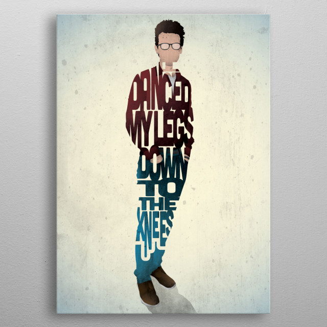 Morrissey - The Smiths. metal poster