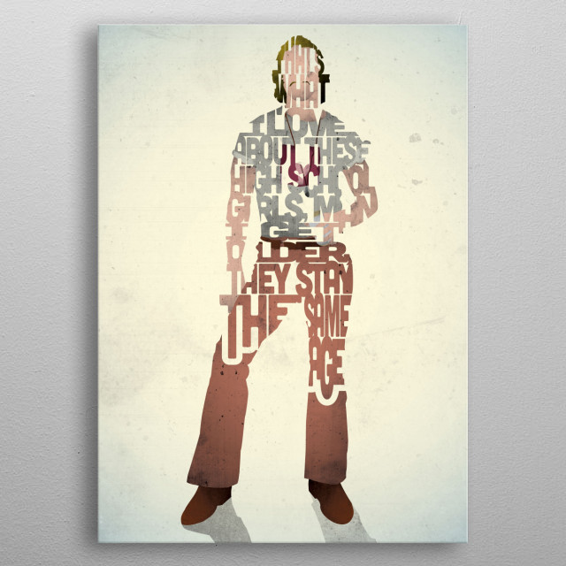 Wooderson - Dazed and Confused. metal poster