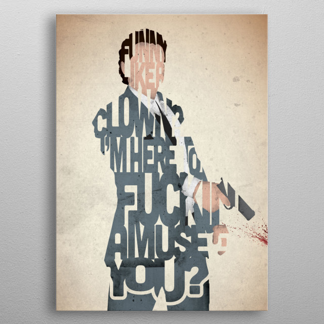 Tommy DeVito - Goodfellas. metal poster