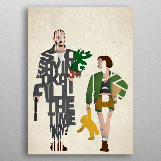 Leon and Mathilda - Leon the Professional. metal poster
