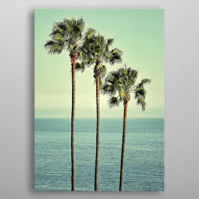 High-quality metal print from amazing Coastal collection will bring unique style to your space and will show off your personality. metal poster