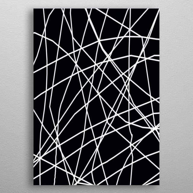 Fascinating metal poster designed by trebam NYC. Displate has a unique signature and hologram on the back to add authenticity to each design. metal poster