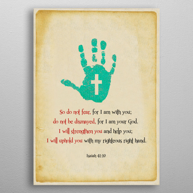 I Will Uphold You metal poster