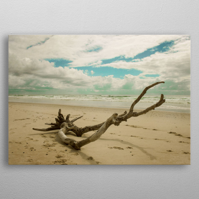 High-quality metal print from amazing Beach Days collection will bring unique style to your space and will show off your personality. metal poster
