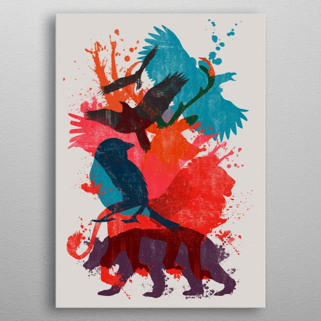 It's A Wild Thing metal poster