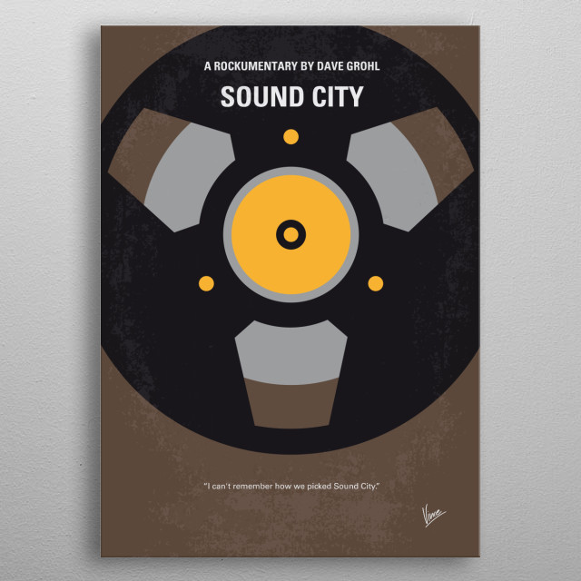 No181 My Sound City minimal movie poster  A documentary on the fabled recording studio that was located in Van Nuys, California.  Director: David Grohl Stars: Trent Reznor, Tom Petty, Mick Fleetwood  ound, City, Dave, Grohl, courtney love, dave grohl, fleetwood mac, foo, fighters, metallica, nervermind, nirvana, rockumentary, rumours, sound city, studios, Tom, Petty, Stevie, Nicks, Rage, Against, Machine, Neve, metal poster