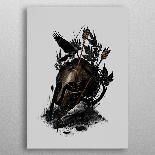 Legends Fall metal poster