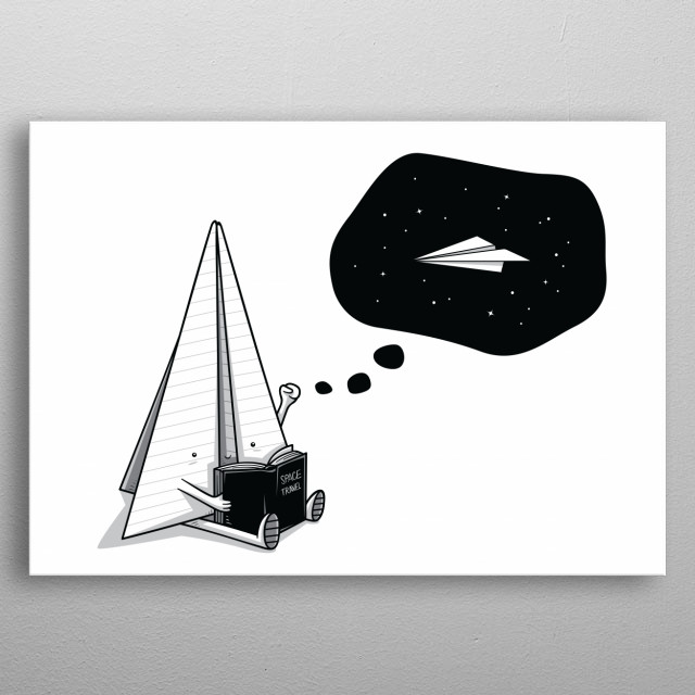 High-quality metal print from amazing Clever Stuff collection will bring unique style to your space and will show off your personality. metal poster