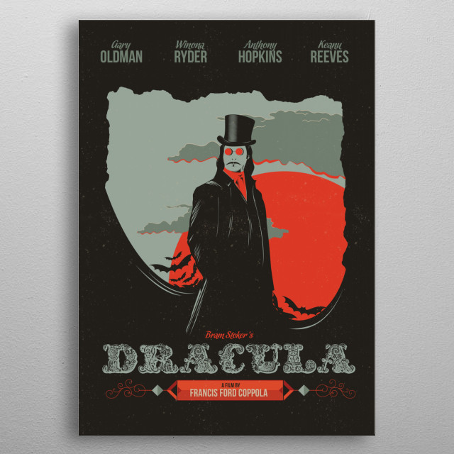 High-quality metal print from amazing Movie Poster collection will bring unique style to your space and will show off your personality. metal poster
