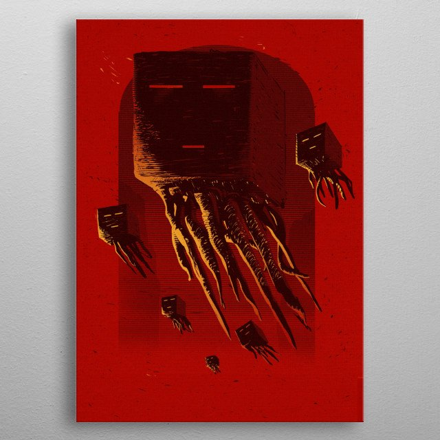 Fascinating  metal poster designed with love by ronanlynam. Decorate your space with this design & find daily inspiration in it. metal poster