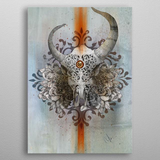 Carved Soul metal poster