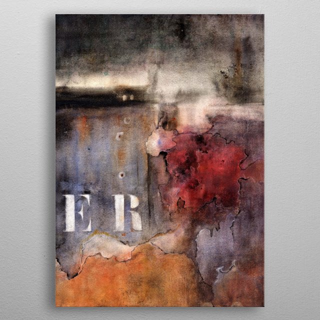 Fascinating metal poster designed by agnes trachet. Displate has a unique signature and hologram on the back to add authenticity to each design. metal poster