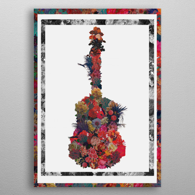 High-quality metal print from amazing Mix collection will bring unique style to your space and will show off your personality. metal poster
