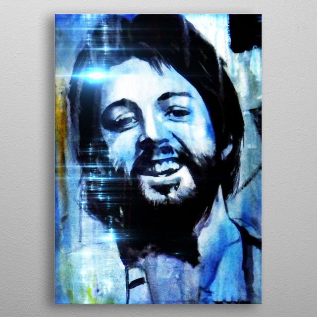 Paul metal poster