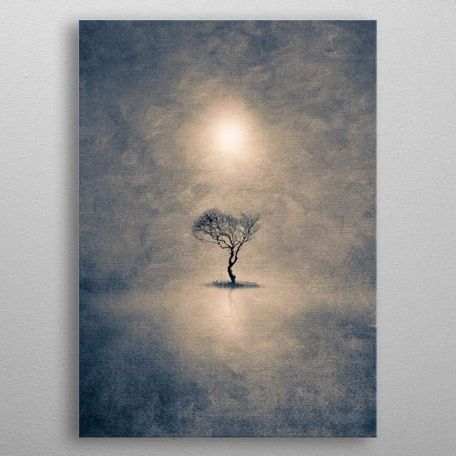 High-quality metal print from amazing Minimal Simplicity collection will bring unique style to your space and will show off your personality. metal poster