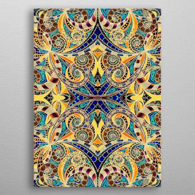 High-quality metal wall art meticulously designed by medusa81 would bring extraordinary style to your room. Hang it & enjoy. metal poster
