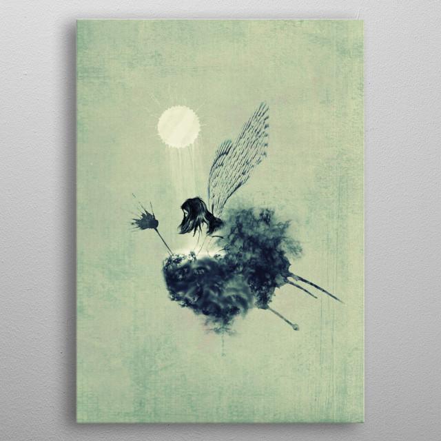 Fairy calypso metal poster