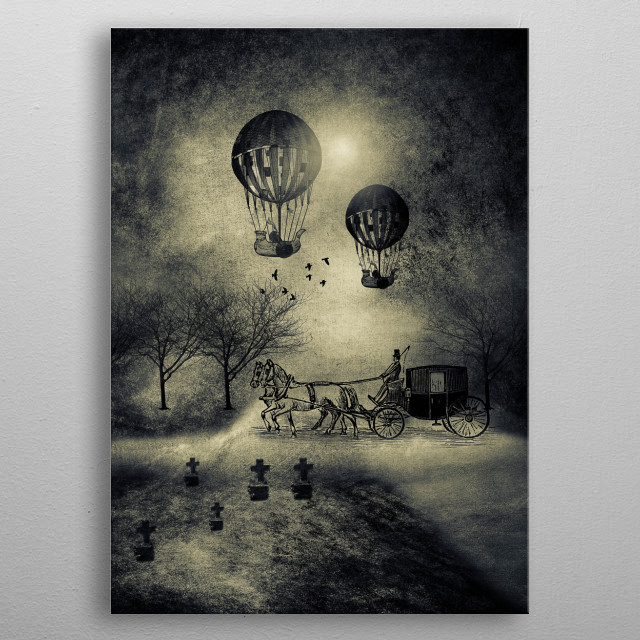 High-quality metal print from amazing Chapters collection will bring unique style to your space and will show off your personality. metal poster