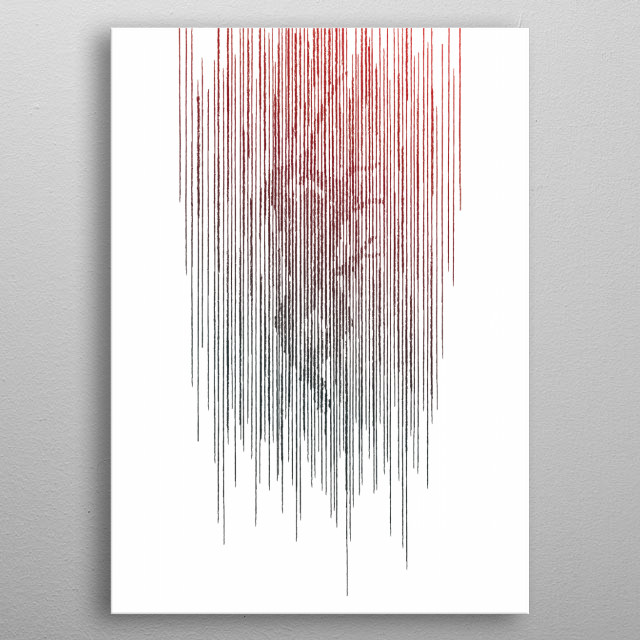 Fascinating  metal poster designed with love by gammaray. Decorate your space with this design & find daily inspiration in it. metal poster