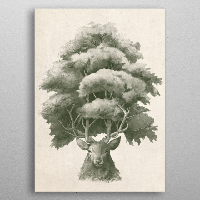 Old Growth metal poster