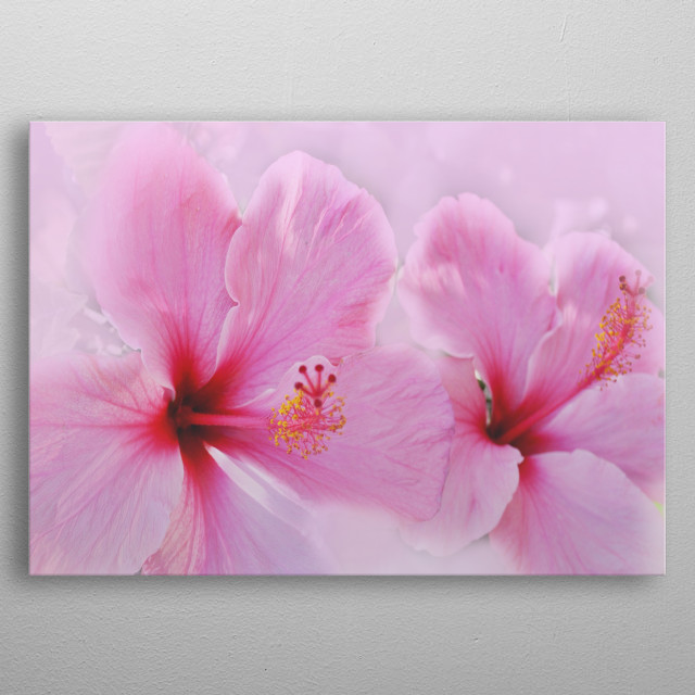High-quality metal print from amazing Flower Power collection will bring unique style to your space and will show off your personality. metal poster