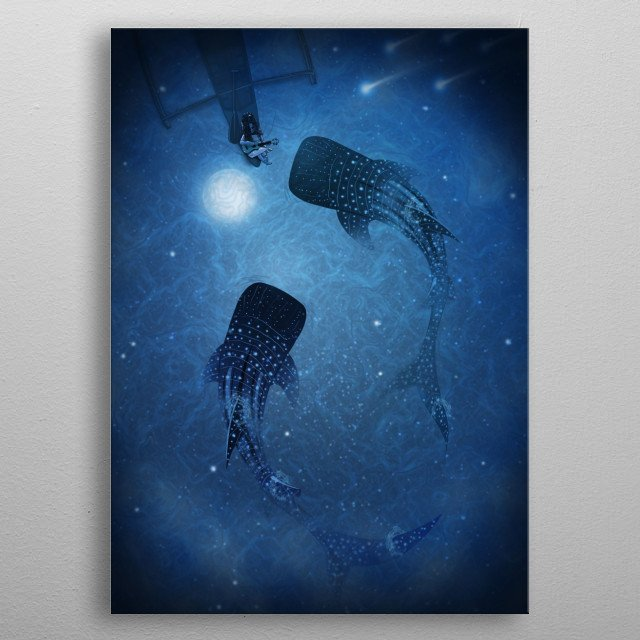 Fascinating metal poster designed by dEMOnyo artworX. Displate has a unique signature and hologram on the back to add authenticity to each design. metal poster