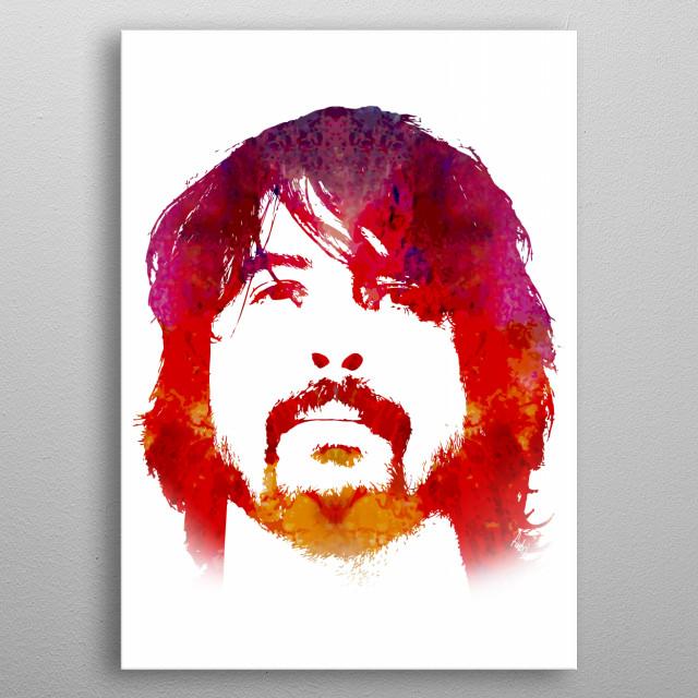 Dave metal poster