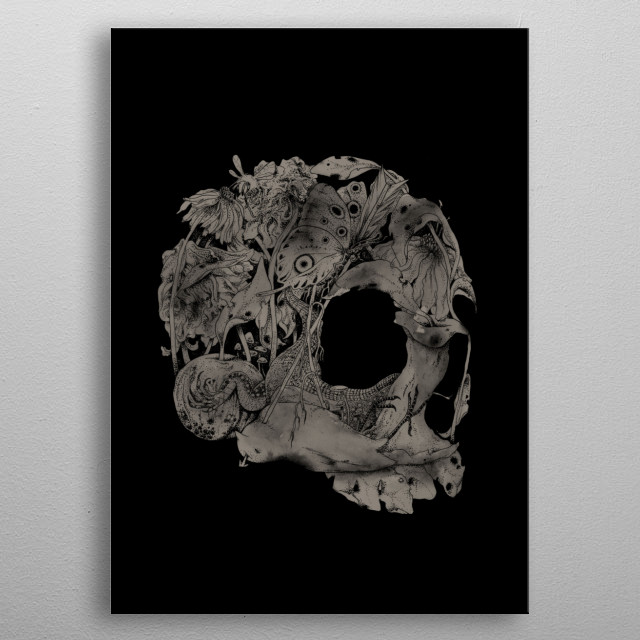 Natureza Morta metal poster