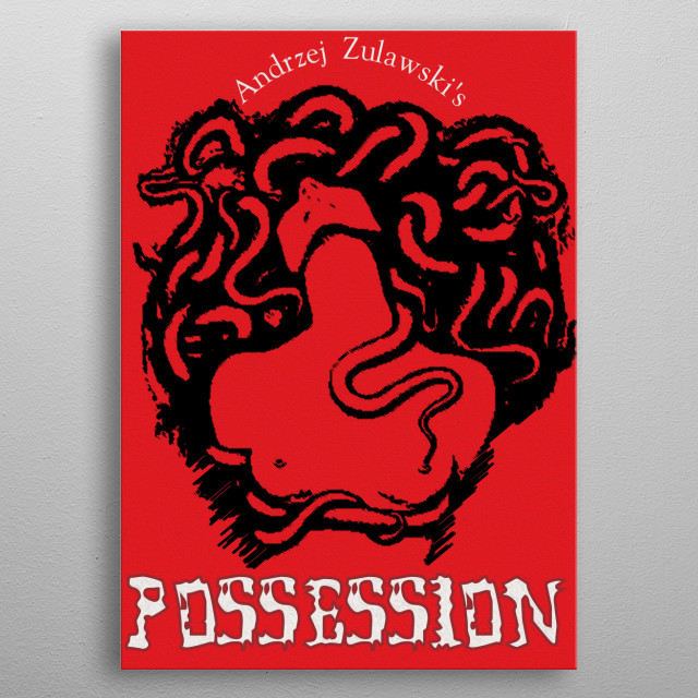 Possession Movie Poster metal poster