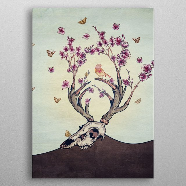 High-quality metal wall art meticulously designed by belle13 would bring extraordinary style to your room. Hang it & enjoy. metal poster