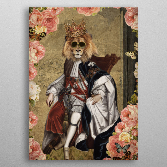 High-quality metal print from amazing Animal Collection collection will bring unique style to your space and will show off your personality. metal poster