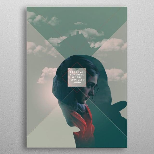 Eternal Sunshine of the Spotless Mind ///// Director: Michel Gondry Writers: Charlie Kaufman (story), Michel Gondry (story) Stars: Jim Carrey, Kate Winslet, Tom Wilkinson ///// metal poster