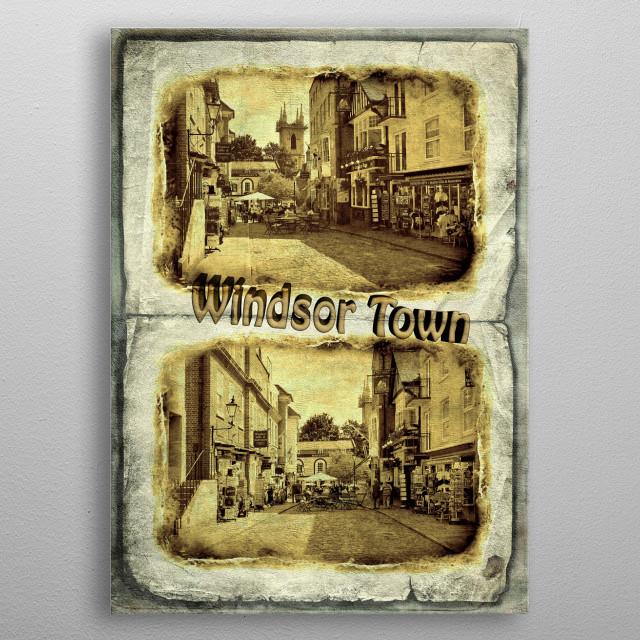 Windsor Town metal poster
