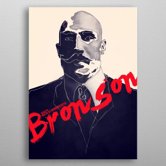 Bronson metal poster