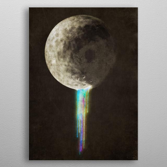 Color Bleed metal poster