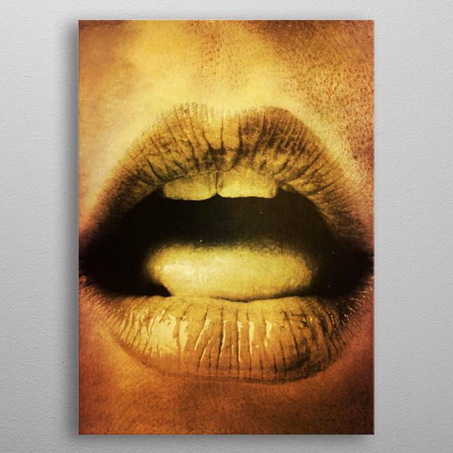 mouth metal poster