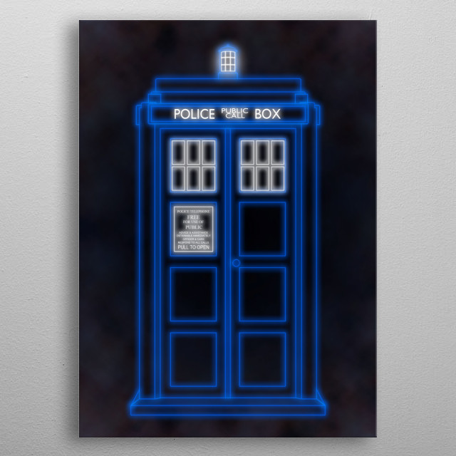 High-quality metal print from amazing Gallifreyan Fare collection will bring unique style to your space and will show off your personality. metal poster