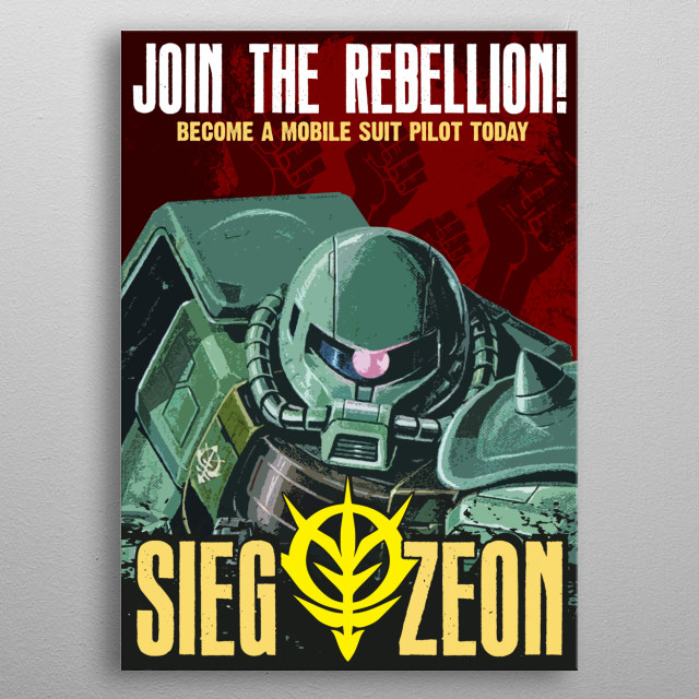 Join Today metal poster