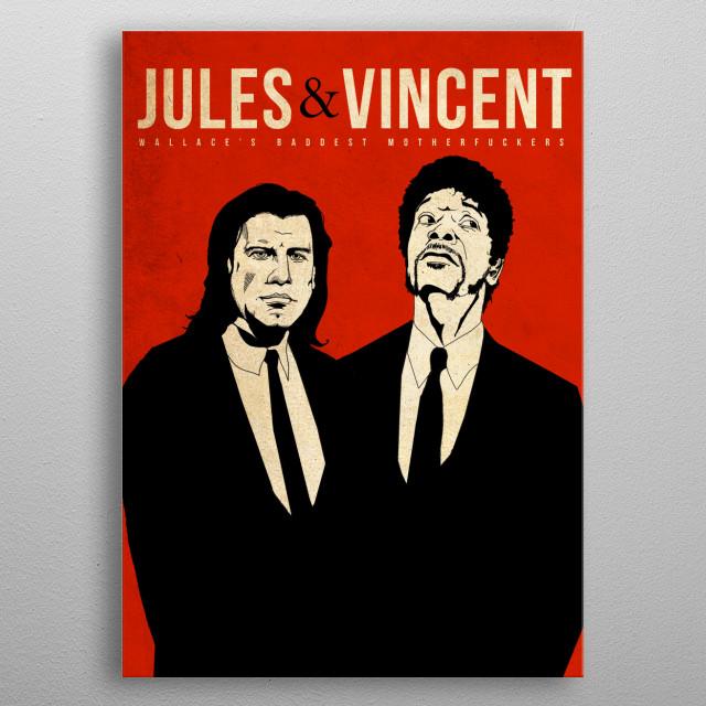 Jules metal poster