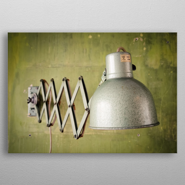 This marvelous metal poster designed by andersmikkelsen to add authenticity to your place. Display your passion to the whole world. metal poster